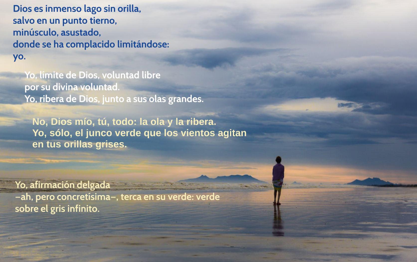 Dios es un inmenso lago (Dámaso Alonso)